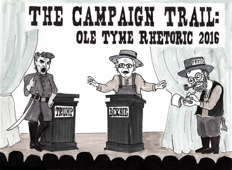 The Campaign Trail: Ole Tyme Rhetoric 2016
